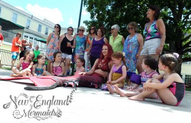 Cape Cod Mermaid Performer for Events and Parties