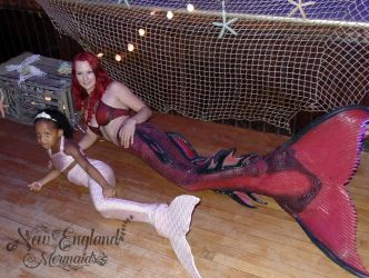 Custom Kids Mermaid Tail Birthday Party Land Appearance At Hall