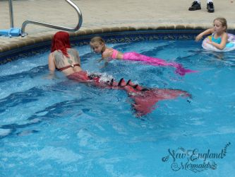 Custom Kids Mermaid Tails and Instruction Lessons