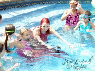 Filming Underwater Mermaids