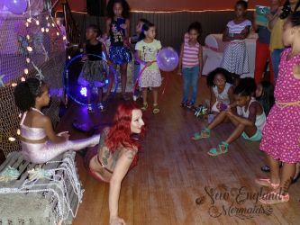 Hire A Mermaid For Hula Hoop Kids Birthday Party