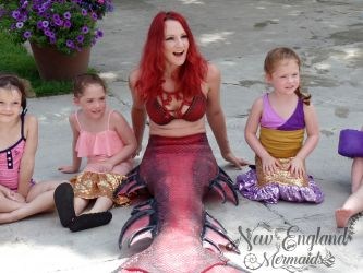 Hire A Real Mermaid For Your Kids Birthday Pool Party Massachusetts Rhode Island Connecticut New Hampshire