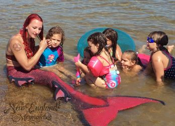 Just Mermaid Things - New England Mermaids Mermaid Sasha