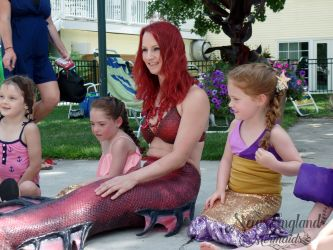 Kids Mermaid Birthday Party Real Mermaid Performer Surprise Rhode Island