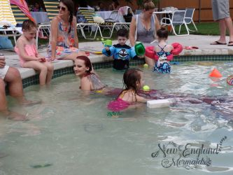 Kids and Teens Mermaid Birthday Pool Party Entertainment Massachusetts