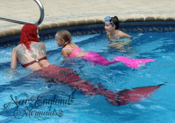 Learn How to be a Mermaid! Custom Mermaid Tails and Lessons