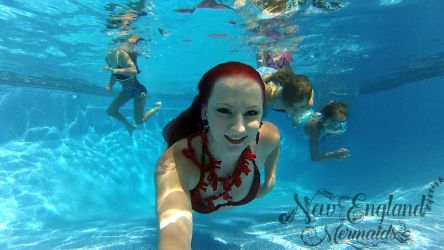Luau Mermaid Performer - Luau Party Entertainment - Event Performers - Underwater Mermaids
