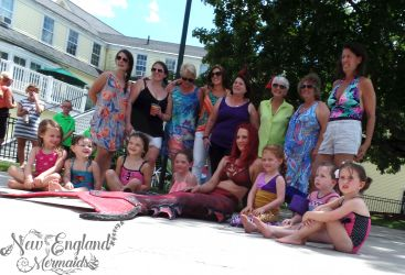 Massachusetts Mermaid Sasha - New England Mermaids