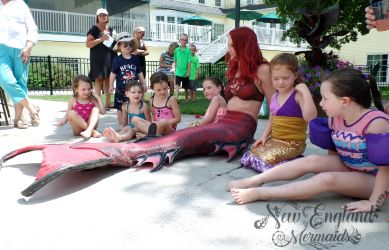 Mermaid Birthday Party Massachusetts Real Mermaid Sasha Performer Cape Cod
