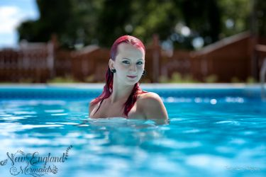 Mermaid Model Swimming Pool