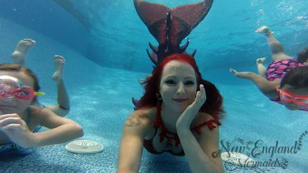 Underwater Mermaid Performer For Events Real Silicone Mermaid Tail Rhode Island