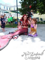 Mermaid Performer New England Mermaids Massachusetts Birthday