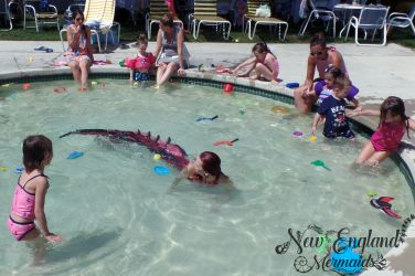 Mermaid Performer Swimming with Kids - New England Mermaids