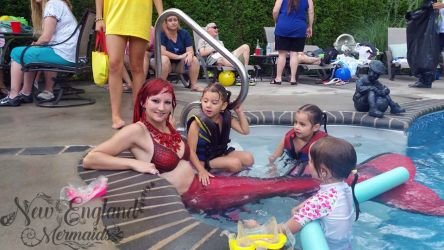 Mermaid Sasha Real Live Mermaid Party Kids Birthday Pool Swimming Worcester MA