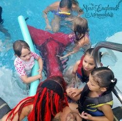 Mermaid Sasha Real Live Mermaid Party Kids Pool Birthday Providence RI