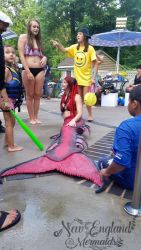 Mermaid Sasha Real Live Mermaid Party Kids Pool Birthday Swimming Cape Cod MA