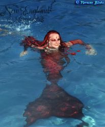 Mermaid Sasha Real Live Mermaid Party Pool Ocean New Hampshire