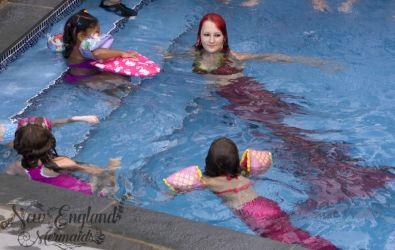 Mermaid Sasha Real Live Mermaid Pool Party Kids Birthday Stafford CT