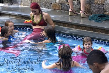 Mermaid Sasha Real Live Mermaid Pool Party Kids Birthday