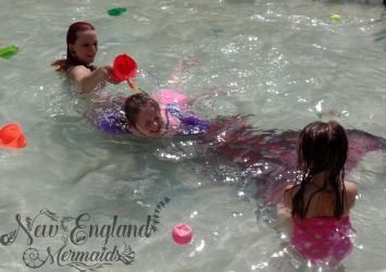 Mermaid Splash - Mermaid Sasha Real Mermaid Performer Entertainer Massachusetts