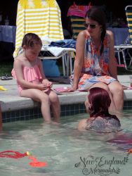 Mermaid Swimming Birthday Party