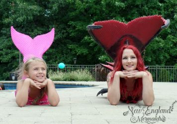 New England Mermaids Kids Birthday Parties with Custom Mermaid Tails