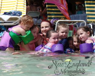 New England Mermaids - Mermaid Hugs - Mermaid Birthday Party