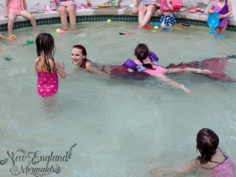 New Hampshire Mermaid Performer for Kids Parties