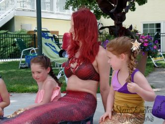 Real Mermaid Birthday Party