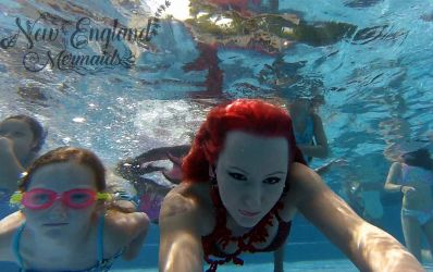 Real Mermaid Performer Rhode Island Princess Parties