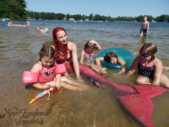 Real Mermaid Performer Swimming Professional Rhode Island