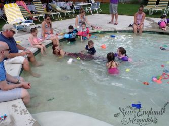 Real Mermaid Swimming with Kids! Pool Party Massachusetts