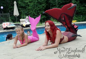 Real Mermaids - Custom Mermaid Tails for Kids - New England Mermaids