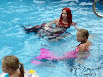 Real Mermaids Swimming In Your Pool!