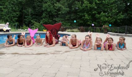 Real Mermaids for Hire Event and Party Entertainment