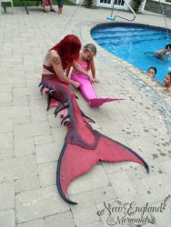 Surprise Mermaid Tail For Birthday Girl - New England Mermaids