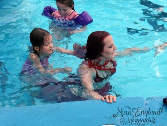 Swimming with a Real Mermaid! New England Mermaids