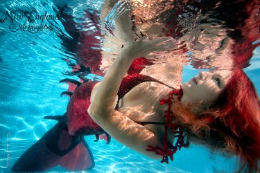 Underwater Mermaid Model - Mermaid Sasha - New England Mermaids