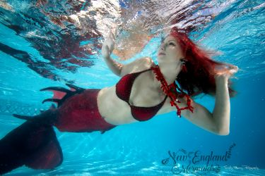 Underwater Mermaid Model - Mermaid Sasha