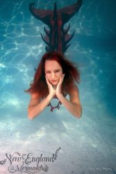 Underwater Mermaid Model Performer