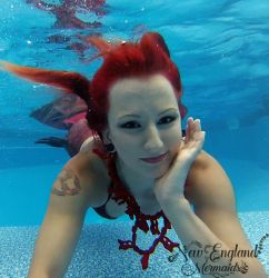 Underwater Mermaid Performer For Parties And Events New England