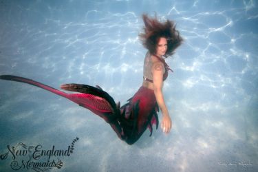 Underwater Mermaid Photography Model