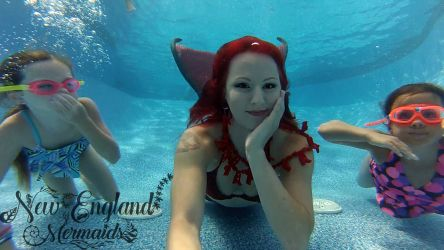 Underwater Performer Mermaid Birthday Princess Parties Massachusetts