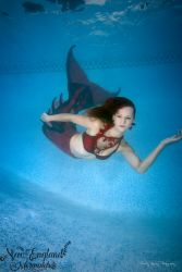 Underwater Performer Mermaid