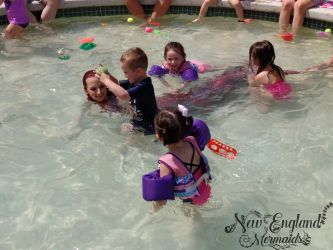 Vermont Mermaid Performer For Kids Parties